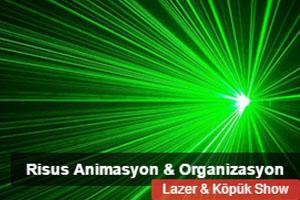 Risus Animasyon Lazer & Köpük Show