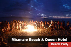 Miramare Beach Hotel, Beach Party