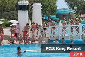 PGS Kiriş Resort 2010 Animasyon Takımı